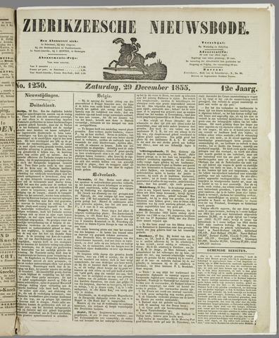 Zierikzeesche Nieuwsbode 1855-12-29