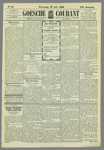Goessche Courant 1929-07-10