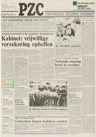 Provinciale Zeeuwse Courant 1984-09-01