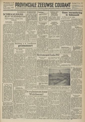 Provinciale Zeeuwse Courant 1947-08-25