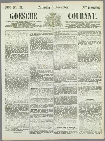Goessche Courant 1893-11-04