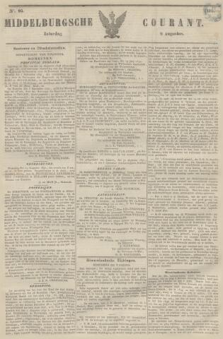 Middelburgsche Courant 1851-08-09