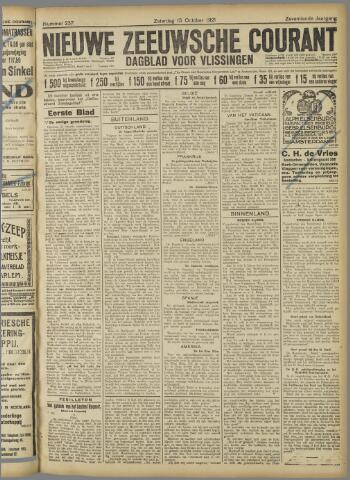 Nieuwe Zeeuwsche Courant 1921-10-15