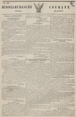 Middelburgsche Courant 1851-11-22