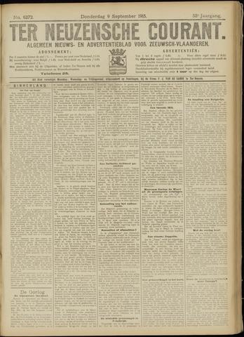 Ter Neuzensche Courant. Algemeen Nieuws- en Advertentieblad voor Zeeuwsch-Vlaanderen / Neuzensche Courant ... (idem) / (Algemeen) nieuws en advertentieblad voor Zeeuwsch-Vlaanderen 1915-09-09