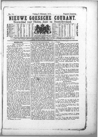 Nieuwe Goessche Courant 1874-02-06