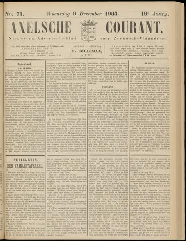 Axelsche Courant 1903-12-09