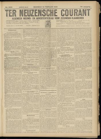 Ter Neuzensche Courant. Algemeen Nieuws- en Advertentieblad voor Zeeuwsch-Vlaanderen / Neuzensche Courant ... (idem) / (Algemeen) nieuws en advertentieblad voor Zeeuwsch-Vlaanderen 1934-02-12