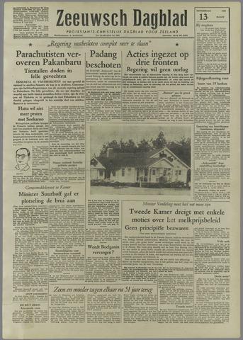 Zeeuwsch Dagblad 1958-03-13