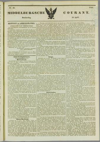 Middelburgsche Courant 1846-04-16