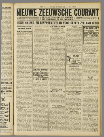 Nieuwe Zeeuwsche Courant 1929-08-24