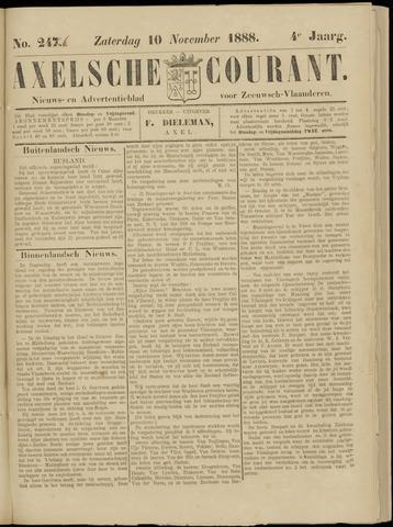 Axelsche Courant 1888-11-10