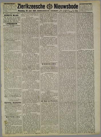Zierikzeesche Nieuwsbode 1921-06-20