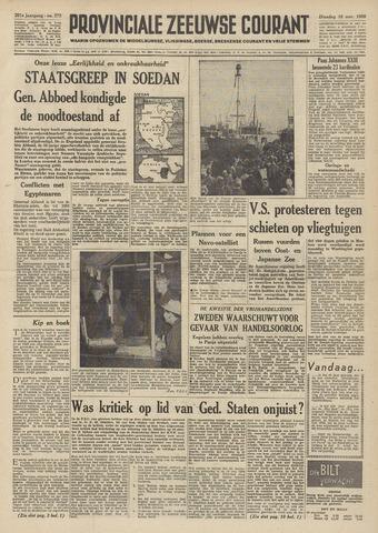 Provinciale Zeeuwse Courant 1958-11-18
