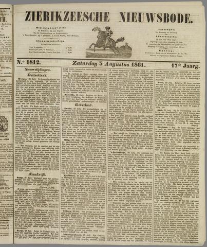 Zierikzeesche Nieuwsbode 1861-08-03