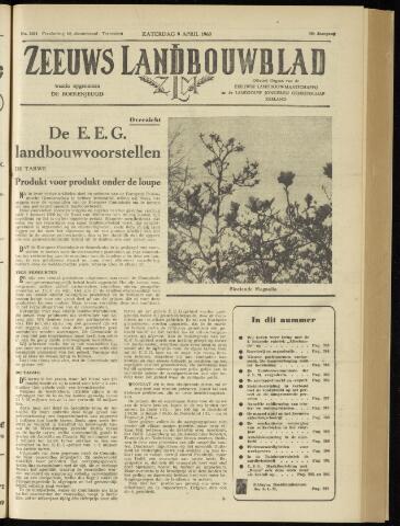 Zeeuwsch landbouwblad ... ZLM land- en tuinbouwblad 1960-04-09