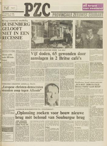 Provinciale Zeeuwse Courant 1974-10-07