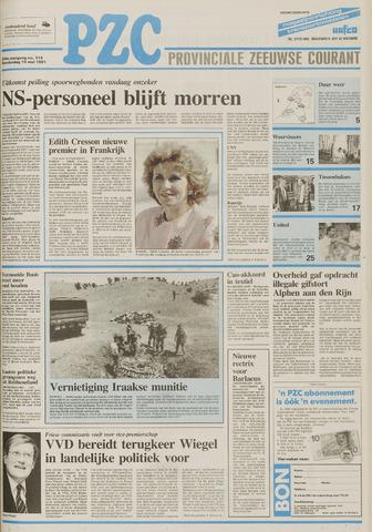 Provinciale Zeeuwse Courant 1991-05-16