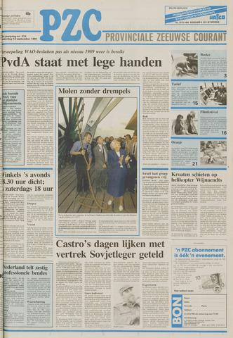 Provinciale Zeeuwse Courant 1991-09-12
