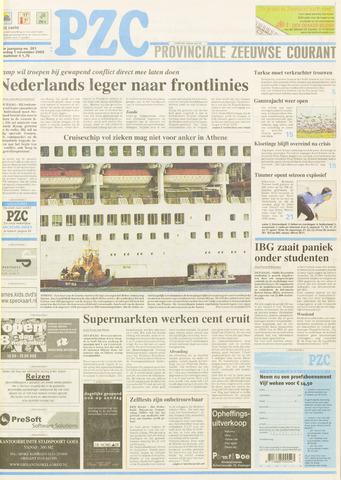 Provinciale Zeeuwse Courant 2003-11-01