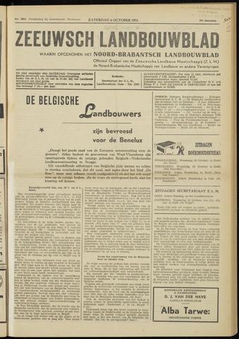 Zeeuwsch landbouwblad ... ZLM land- en tuinbouwblad 1951-10-06