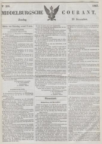 Middelburgsche Courant 1867-12-29