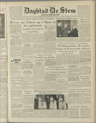 de Stem 1954-02-24