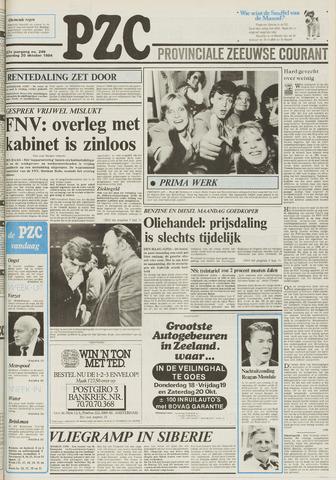 Provinciale Zeeuwse Courant 1984-10-20