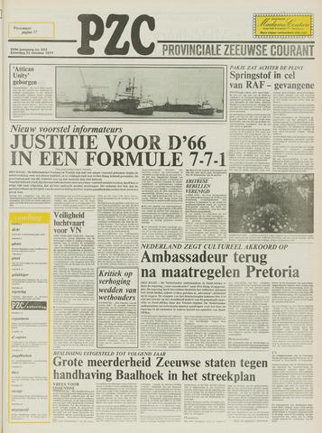 Provinciale Zeeuwse Courant 1977-10-22