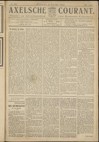 Axelsche Courant 1938-03-29