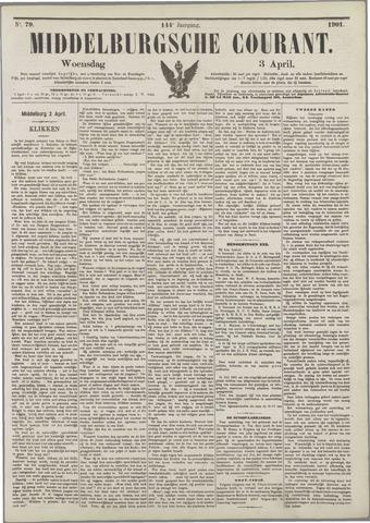Middelburgsche Courant 1901-04-03