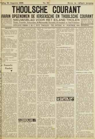 Ierseksche en Thoolsche Courant 1939-08-25
