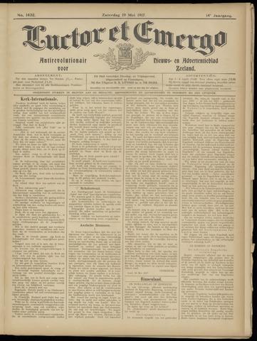 Luctor et Emergo. Antirevolutionair nieuws- en advertentieblad voor Zeeland / Zeeuwsch-Vlaanderen. Orgaan ter verspreiding van de christelijke beginselen in Zeeuwsch-Vlaanderen 1917-05-19