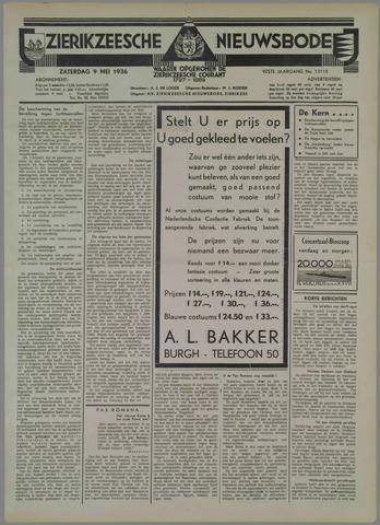 Zierikzeesche Nieuwsbode 1936-05-09