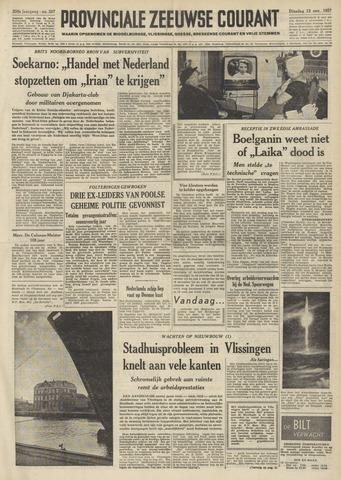 Provinciale Zeeuwse Courant 1957-11-12