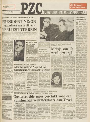Provinciale Zeeuwse Courant 1974-08-07