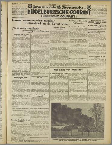 Middelburgsche Courant 1939-09-29