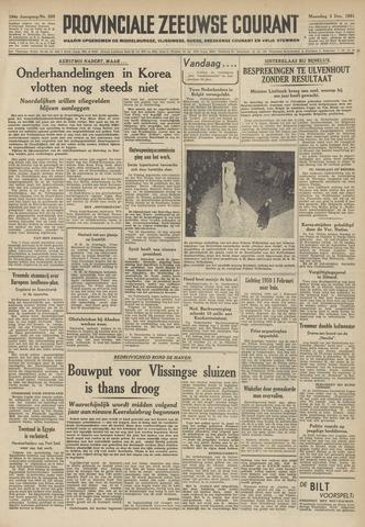 Provinciale Zeeuwse Courant 1951-12-03
