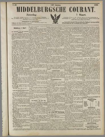 Middelburgsche Courant 1903-03-07