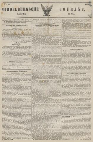 Middelburgsche Courant 1851-07-10