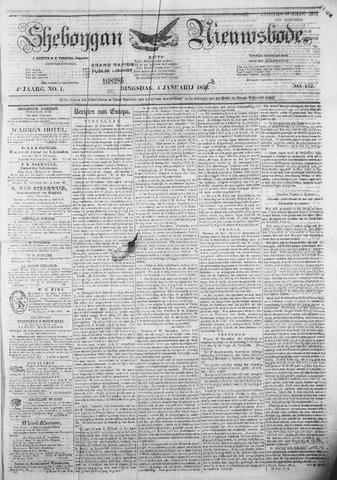 Sheboygan Nieuwsbode 1853