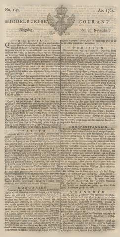 Middelburgsche Courant 1764-11-27