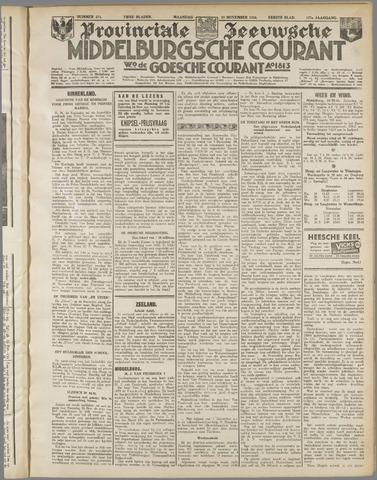 Middelburgsche Courant 1934-11-19