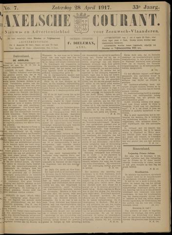 Axelsche Courant 1917-04-28