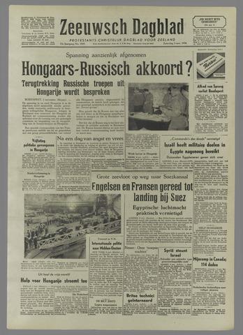 Zeeuwsch Dagblad 1956-11-03