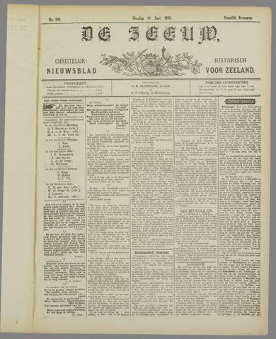 De Zeeuw. Christelijk-historisch nieuwsblad voor Zeeland 1898-06-14