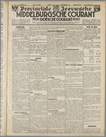 Middelburgsche Courant 1933-09-01