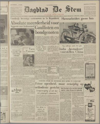 de Stem 1962-11-26