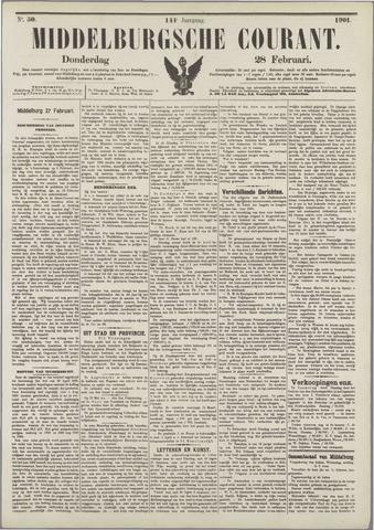 Middelburgsche Courant 1901-02-28