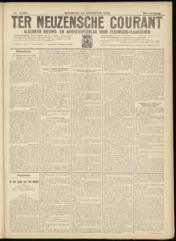 Ter Neuzensche Courant. Algemeen Nieuws- en Advertentieblad voor Zeeuwsch-Vlaanderen / Neuzensche Courant ... (idem) / (Algemeen) nieuws en advertentieblad voor Zeeuwsch-Vlaanderen 1940-08-26